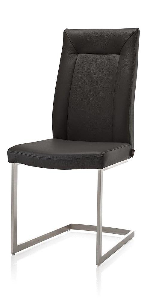 Malvino stuhl edelstahl swing viereckig handgriff for Stuhl edelstahl