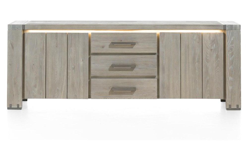 avola sideboard 2 tueren 3 laden 220 cm. Black Bedroom Furniture Sets. Home Design Ideas