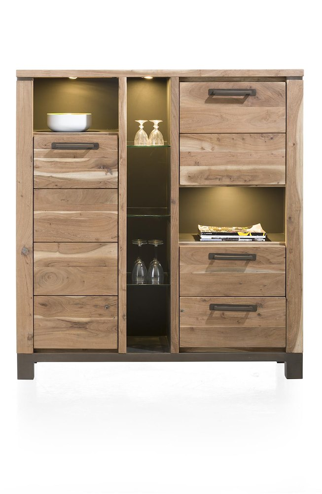 falster schrank mit t ren und led licht 130 cm henders hazel. Black Bedroom Furniture Sets. Home Design Ideas