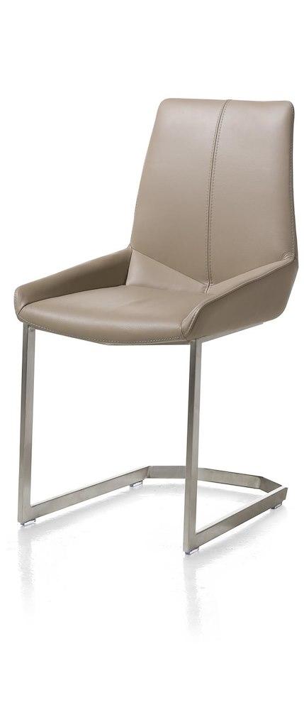 levi stuhl edelstahl gestell viereckig catania leder. Black Bedroom Furniture Sets. Home Design Ideas