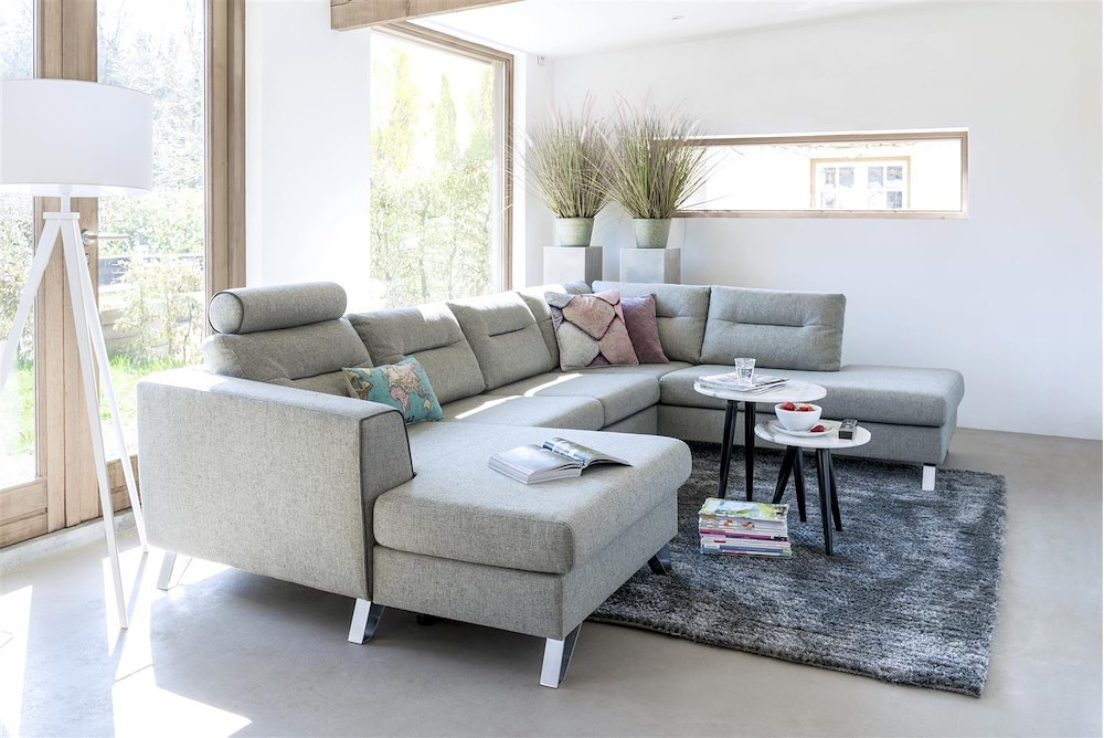 hill longchair 3 sitzer ottomane rechts henders hazel. Black Bedroom Furniture Sets. Home Design Ideas