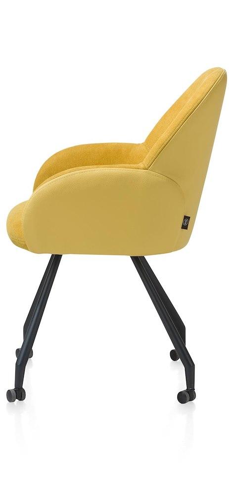 clarissa armlehnstuhl mit rollen. Black Bedroom Furniture Sets. Home Design Ideas