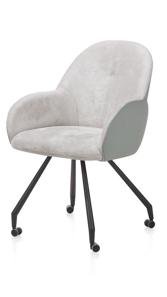 clarissa armlehnstuhl mit rollen combi gibson moreno. Black Bedroom Furniture Sets. Home Design Ideas