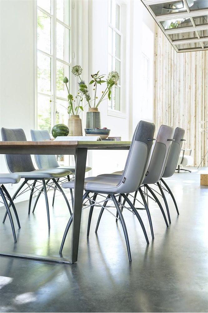 box tisch 220 x 100 cm fuss viereckig. Black Bedroom Furniture Sets. Home Design Ideas