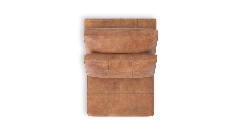 Braga 1 sitzer ohne armlehnen 80 cm henders hazel for Ecksofa ohne armlehnen