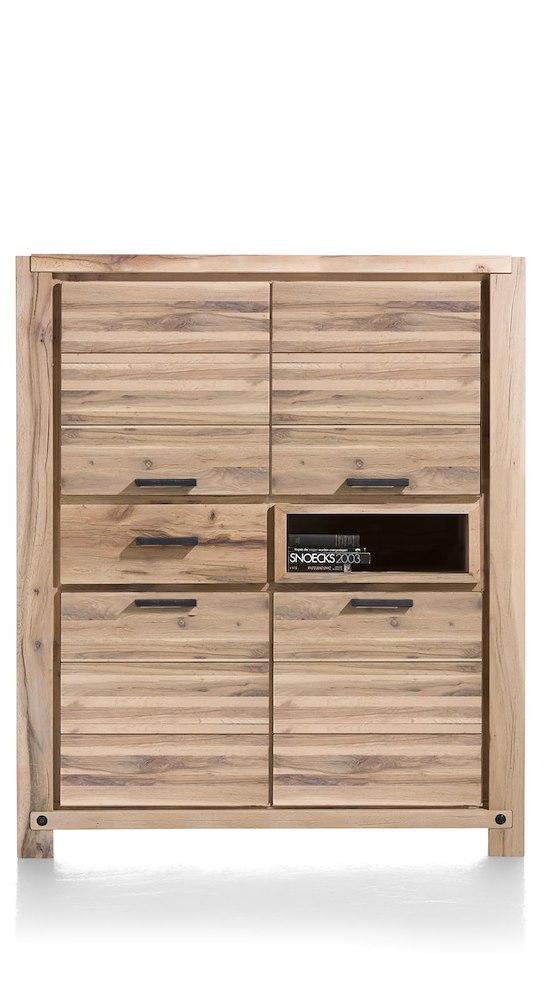maitre schrank 4 tueren 1 lade 1 nische 140 cm led spot. Black Bedroom Furniture Sets. Home Design Ideas