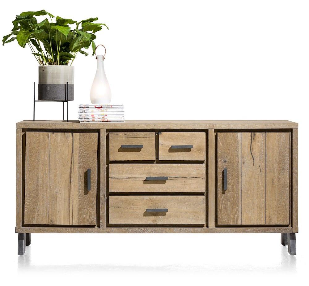 vitoria sideboard 2 tueren 3 laden 180 cm. Black Bedroom Furniture Sets. Home Design Ideas
