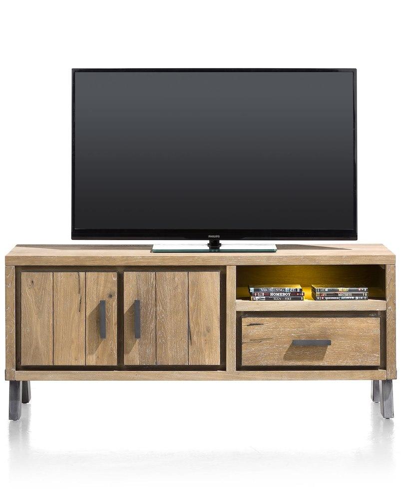vitoria lowboard 2 tueren 1 lade 1 nische 140 cm led. Black Bedroom Furniture Sets. Home Design Ideas