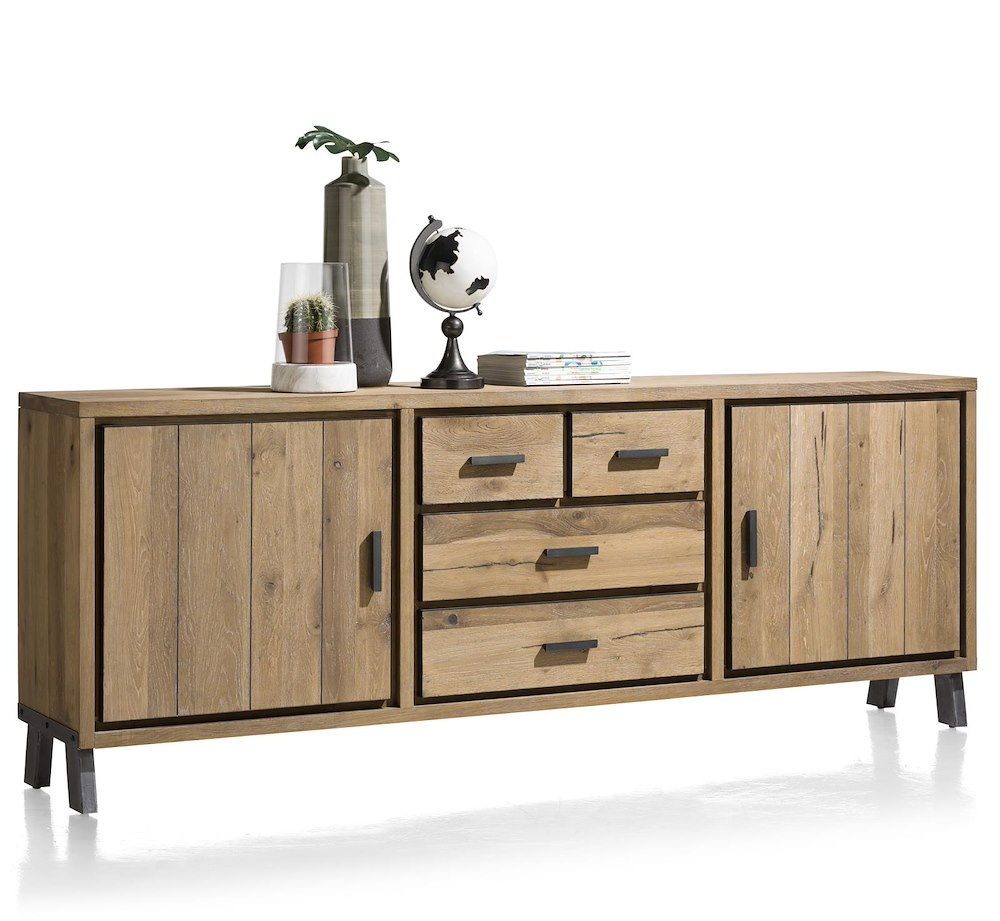 vitoria sideboard 2 tueren 3 laden 240 cm. Black Bedroom Furniture Sets. Home Design Ideas