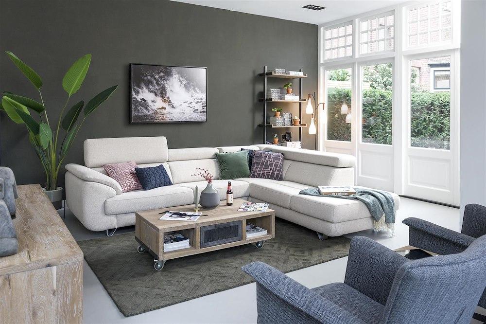 havanna 3 sitzer mit armlehne links und auszug system henders hazel. Black Bedroom Furniture Sets. Home Design Ideas