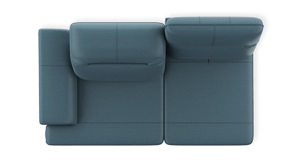 roanne 2 sitzer armlehne links verstellbar. Black Bedroom Furniture Sets. Home Design Ideas