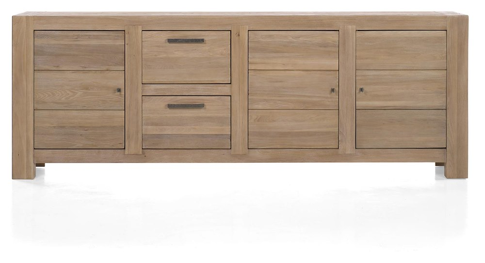 tulsa sideboard 3 tueren 2 laden 250 cm. Black Bedroom Furniture Sets. Home Design Ideas