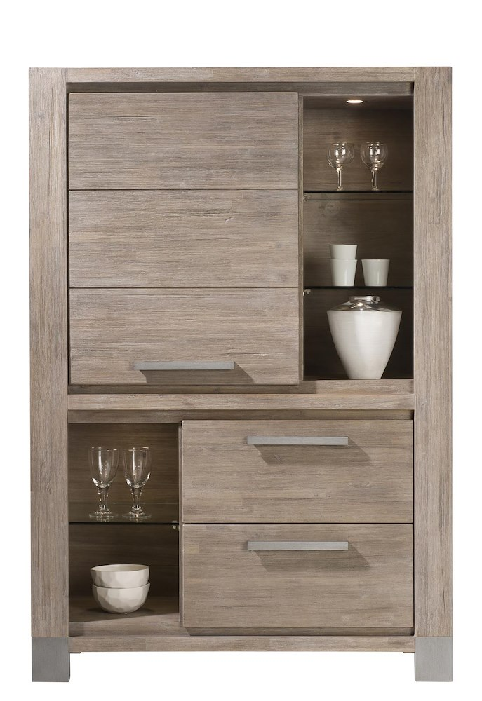 kodiak schrank mit einer t r und 2 laden 160 cm. Black Bedroom Furniture Sets. Home Design Ideas