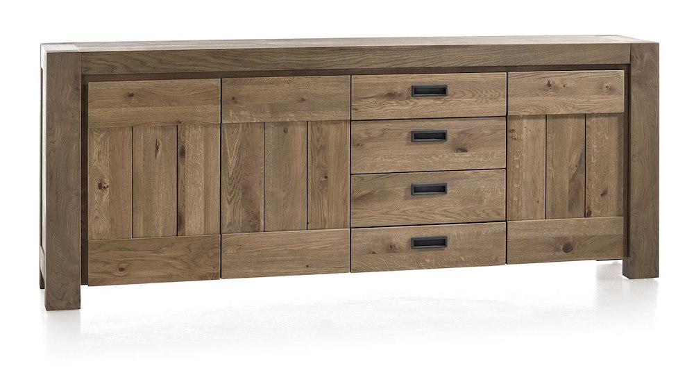 sideboard in grau 230 cm pharao24 smash. Black Bedroom Furniture Sets. Home Design Ideas