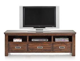 Cape Cod, Tv-sideboard 3-laden + 3-nischen - 160 Cm
