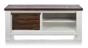 Velasco, Tv-sideboard 1-korb + 2-nischen - 130 Cm