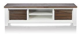 Velasco, Tv-sideboard 2-koerbe + 2-nischen - 190 Cm