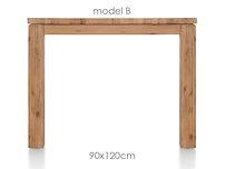 A La Carte, Tisch 120 X 90 Cm - Ben