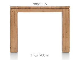 A La Carte, Tisch 140 X 140 Cm - Aad