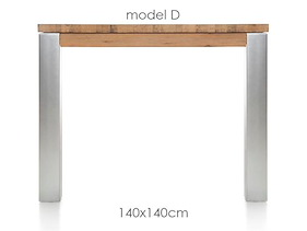 A La Carte, Tisch 140 X 140 Cm - Dirk