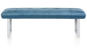 Milva Bank, Sofa Onhe Ruecken + Taschenfederung - 155 Cm