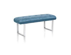 Milva Bank, Sofa Ohne Ruecken + Taschenfederung - 130 Cm