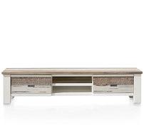 Tibro, Tv-sideboard 1-lade + 1-klappe + 2-nischen - 175 Cm