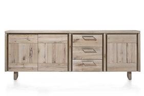 More, Sideboard 3-tueren + 3-laden 240 Cm - Holz