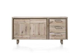 More, Sideboard 2-tueren + 3-laden 180 Cm - Holz