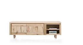 More, Lowboard 2-tueren + 2-nischen 200 Cm - Holz
