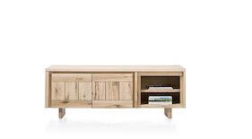 More, Lowboard 2-tueren + 2-nischen 180 Cm - Holz