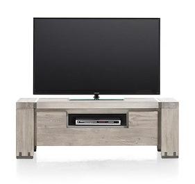 Avola, Tv-sideboard 1-klappe + 1-nische - 130 Cm