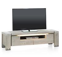 Avola, Tv-sideboard 2-klappen + 1-nische - 160 Cm