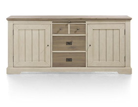Le Port, Sideboard 190 Cm - 2-tueren + 3-laden + 1-tablett