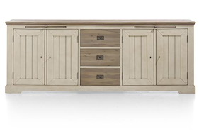 Le Port, Sideboard 240 Cm - 4-tueren + 3-laden + 2-tabletts