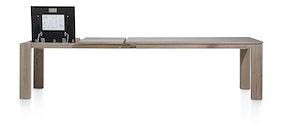 Ermondo, Ausziehtisch 200 (+ 2 X 50) X 100 Cm