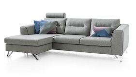 Hill, 3-sitzer + Longchair Rechts & Links