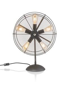 Fan, Tischlampe 5-flammig