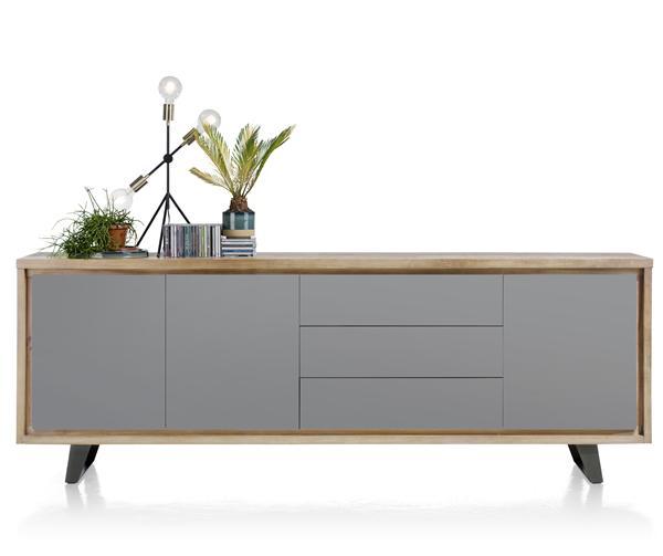 box sideboard 3 tueren 3 laden 240 cm. Black Bedroom Furniture Sets. Home Design Ideas