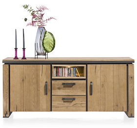 Farmland, Sideboard 180 Cm - 2-tueren + 2-laden + 1-niche (+ Led)