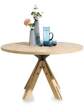 Jardino, Tisch Rund 130 Cm - Zentralem Fuss