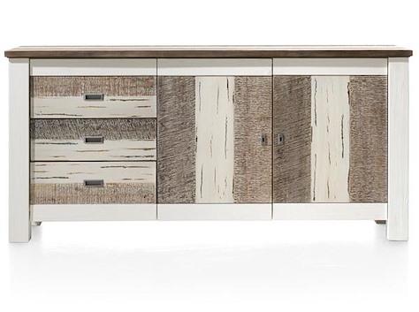 Tibro, Sideboard 2-Tueren + 3-Laden - 180 cm-1