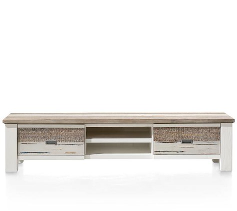 Tibro, TV-Sideboard 1-lade + 1-Klappe + 2-Nischen - 175 cm-1