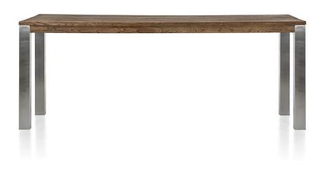 Masters, Tresentisch 240 x 100 cm - Edelstahl 9x9
