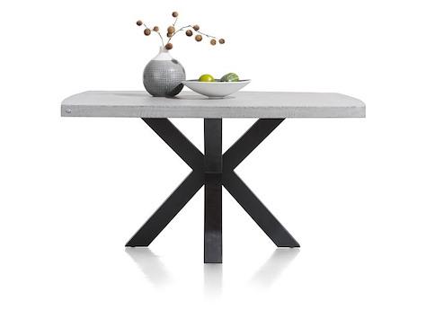 Maestro, Tisch rund 130 cm - Beton Platte | Henders & Hazel