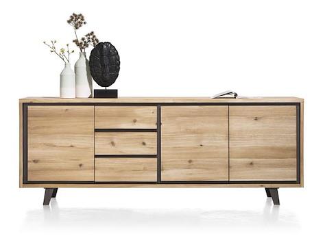 prato sideboard 240 cm 3 tueren 3 laden. Black Bedroom Furniture Sets. Home Design Ideas