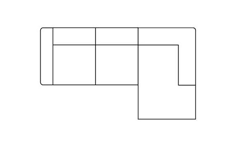 Zembla, 2,5-Sitzer + Longchair rechts