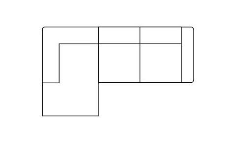 Zembla, 2,5-Sitzer + Longchair links