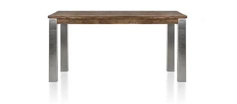 Masters, Tisch 160 x 90  cm - Edelstahl 9x9