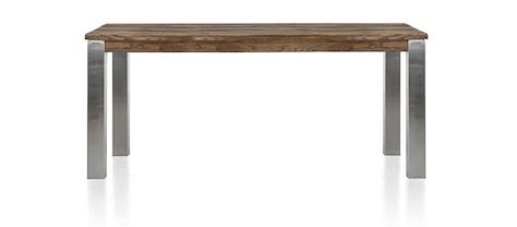 Masters, Tisch 180 x 90 cm - Edelstahl 9x9